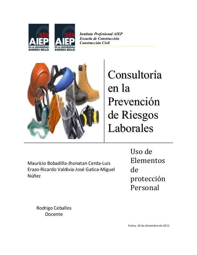 Consultoria en la prevenci n de riesgos laborales for Prevencion de riesgos laborales en la oficina