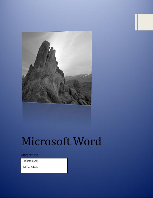 Microsoft Word integrantes Jhonatan Saez Adrian Zabala  0