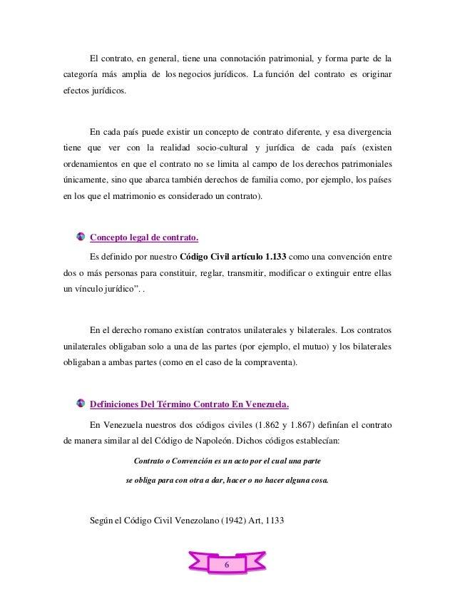 Semejanzas Del Matrimonio Romano Y El Venezolano : Trabajo de derecho civil contrato en venezuela