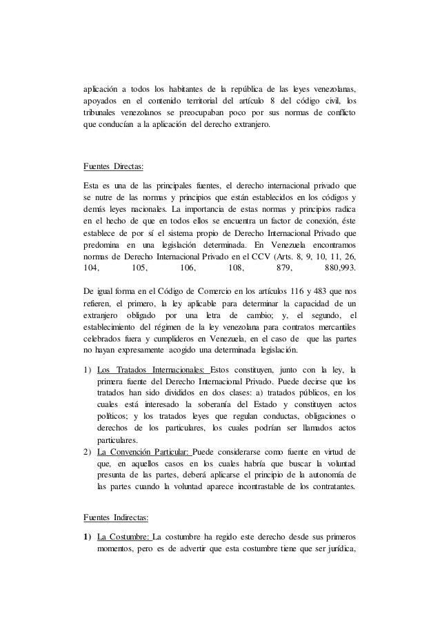 aplicación a todos los habitantes de la república de las leyes venezolanas, apoyados en el contenido territorial del artíc...