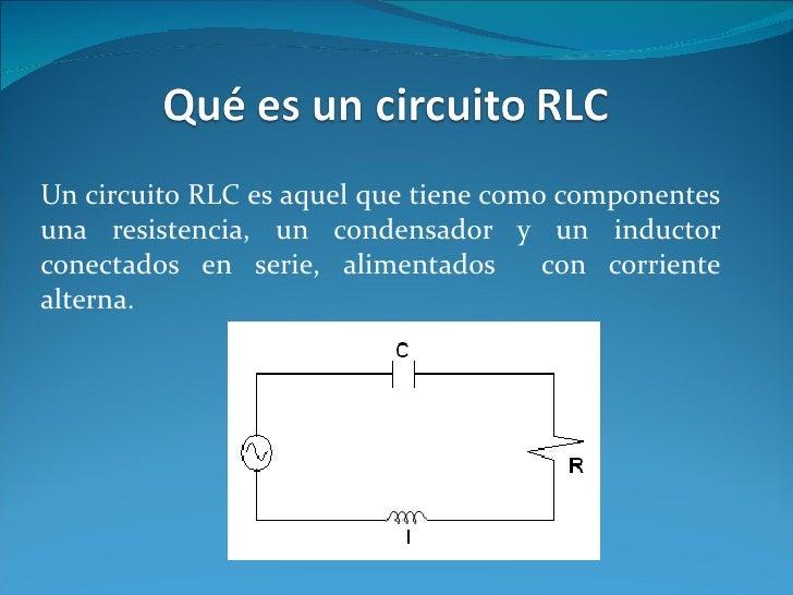 Circuito Rlc Ecuaciones Diferenciales : Trabajo de ecuaciones diferenciales