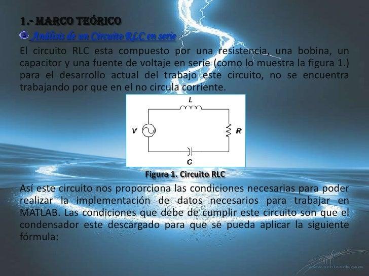 Voltaje Condensador Circuito Rlc Serie : Edo de segundo orden en circuitos rlc serie