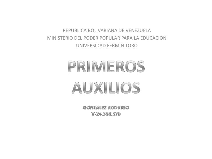 REPUBLICA BOLIVARIANA DE VENEZUELA<br />MINISTERIO DEL PODER POPULAR PARA LA EDUCACION<br />UNIVERSIDAD FERMIN TORO<br />P...