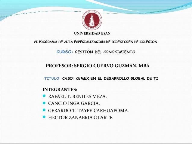 INTEGRANTES:  RAFAEL T. BENITES MEZA.  CANCIO INGA GARCIA.  GERARDO T. TAYPE CARHUAPOMA.  HECTOR ZANABRIA OLARTE. UNIV...
