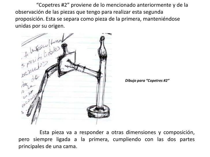 """""""Copetres #2"""" proviene de lo mencionado anteriormente y de la observación de las piezas que tengo para realizar esta segun..."""
