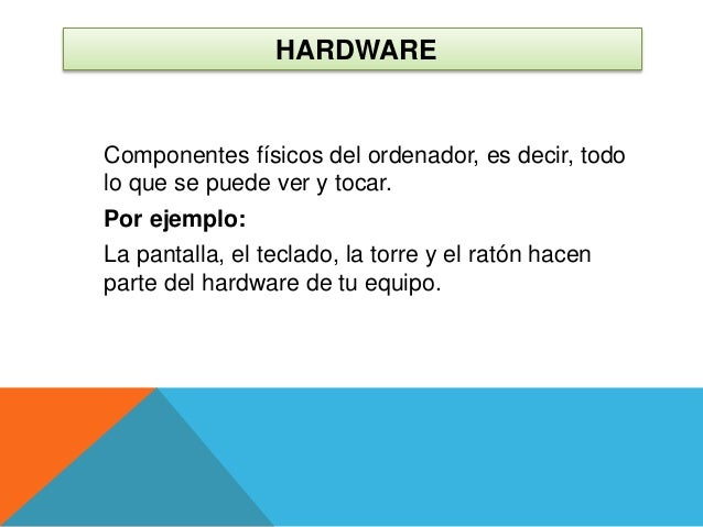 componentes de un ordenador Slide 2