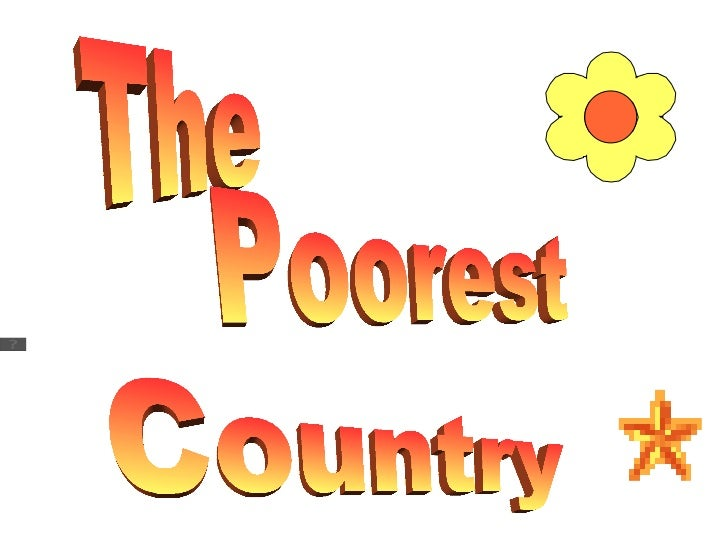The  Country Poorest