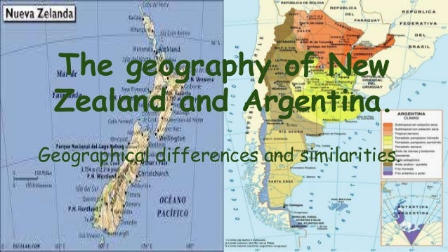 geography of argentina and new zealand