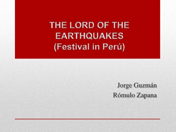 Jorge GuzmánRómulo Zapana