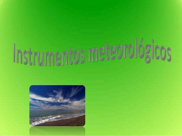 • El centro de estación meteorológica pertenece alMinisterio de Agricultura, Pesca y Alimentación. Unaestación meteorológi...