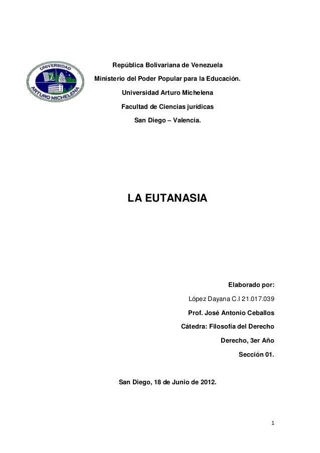 República Bolivariana de VenezuelaMinisterio del Poder Popular para la Educación.        Universidad Arturo Michelena     ...