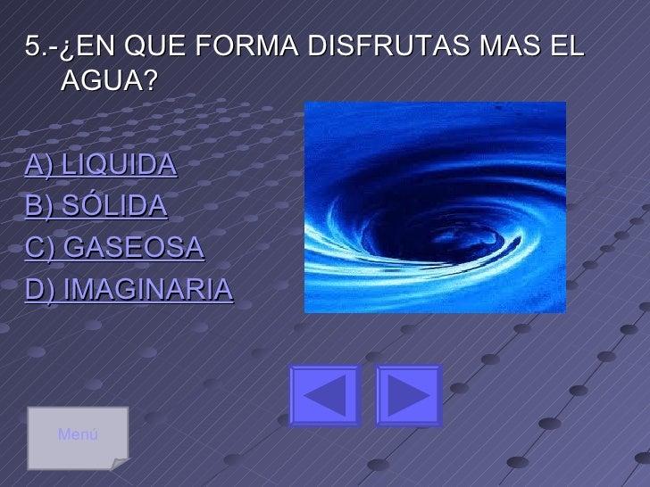Menú              EXCELENTESELECCIONA LA SIGUIENTE PREGUNTA                   4          3  2               5      1