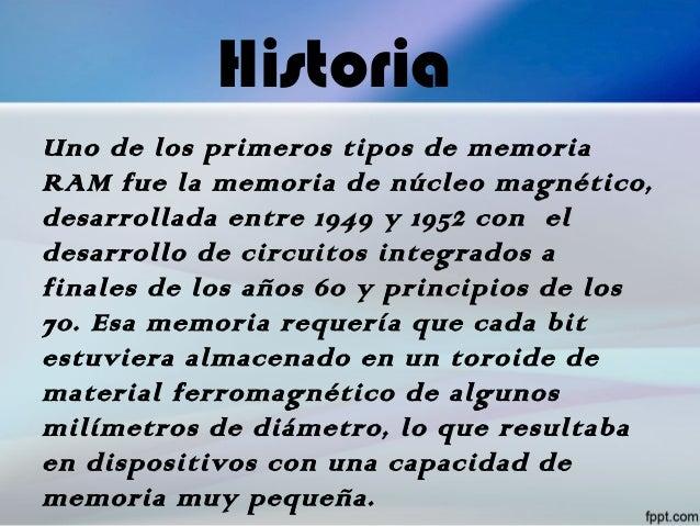 Circuito Integrado De Dimensiones Muy Pequeñas : Trabajo de las memorias ram