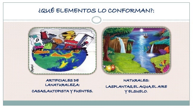 Trabajo del medio ambiente for Que elementos conforman el suelo