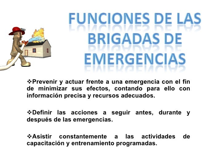 <ul><li>Prevenir y actuar frente a una emergencia con el fin de minimizar sus efectos, contando para ello con información ...