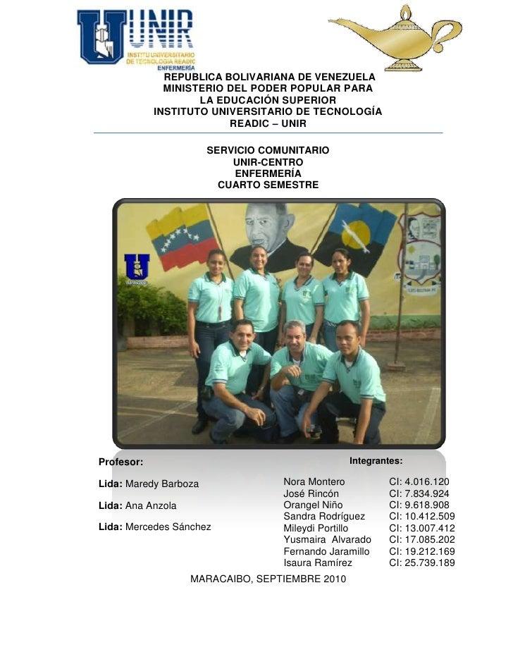 -301778-9855423513476-1032838 REPUBLICA BOLIVARIANA DE VENEZUELA<br />MINISTERIO DEL PODER POPULAR PARA <br />LA EDUCACIÓN...
