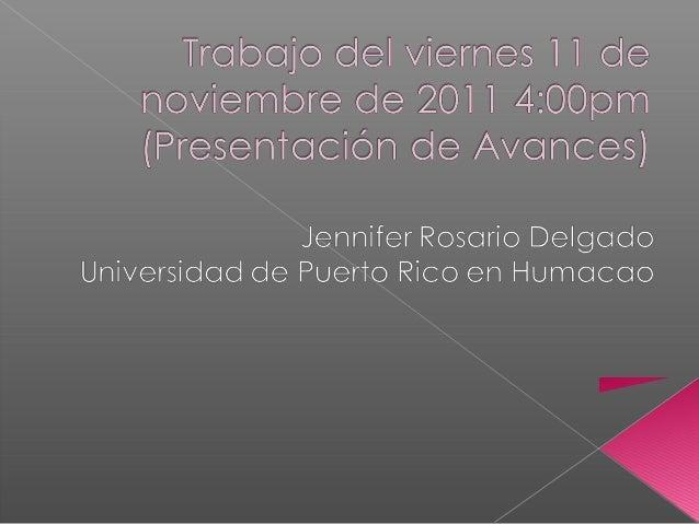    Breve recuento histórico de lo que ha sido el    proyecto (enero 2010/CEAAL-mayo 2011/Nicaragua)    por categorías:   ...