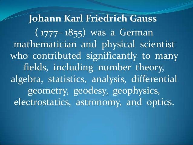 Maths Project - Gauss Slide 2