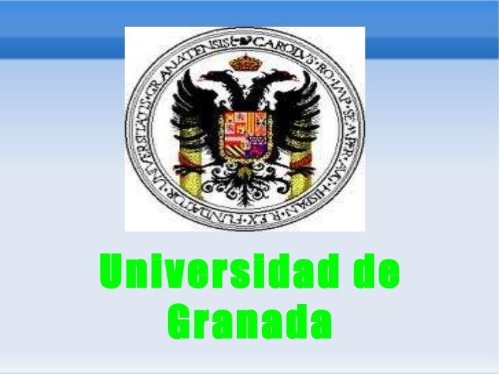 , Universidad de Granada