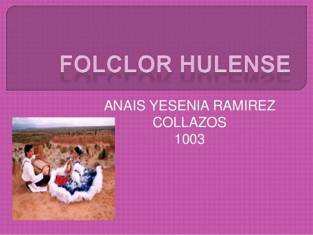 ANAIS YESENIA RAMIREZ COLLAZOS 1003