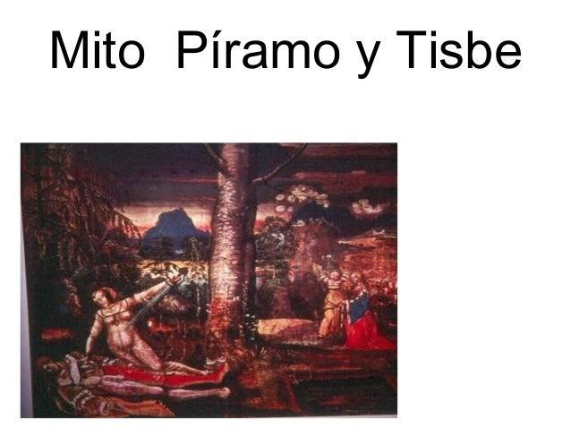 Mito Píramo y Tisbe
