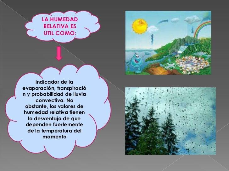 Humedad relativa - Humedad relativa espana ...