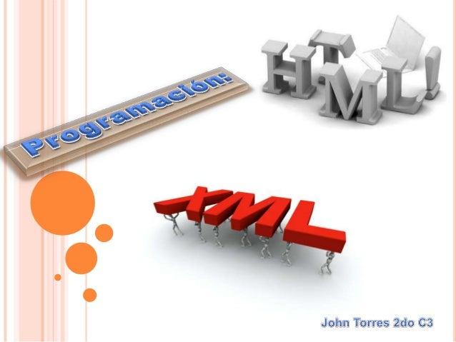  XML     proviene de un lenguaje inventado                  por IBM en los años     setenta, llamado GML (Generalized Mar...