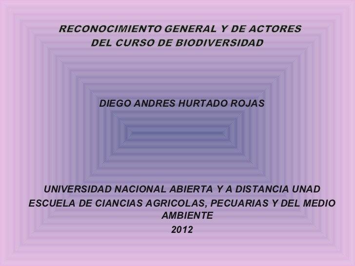 <ul><li>DIEGO ANDRES HURTADO ROJAS </li></ul><ul><li>UNIVERSIDAD NACIONAL ABIERTA Y A DISTANCIA UNAD </li></ul><ul><li>ESC...