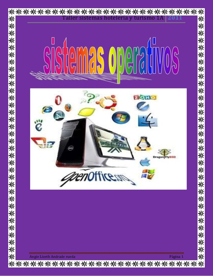 u<br />nsistema operativo(SO) es el programa o conjunto de programas que efectúan la gestión de los procesos básicos de ...