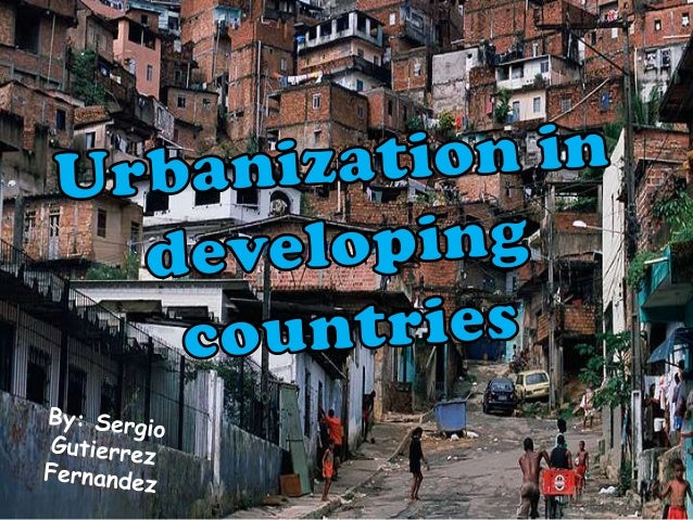Main problems of urbanization in developing countries are…