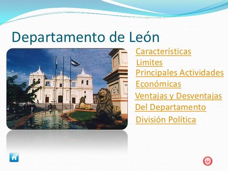 Trabajo de sociales departamentode chinandega y leon i b for Oficina de empleo leon