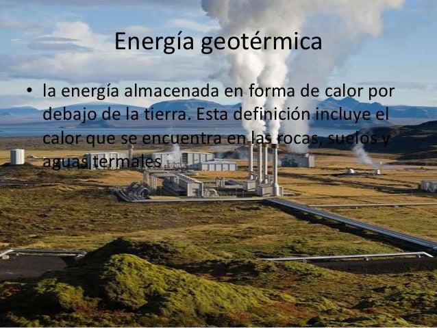 Energias limpias y renovables de lainformatica - En que consiste la energia geotermica ...