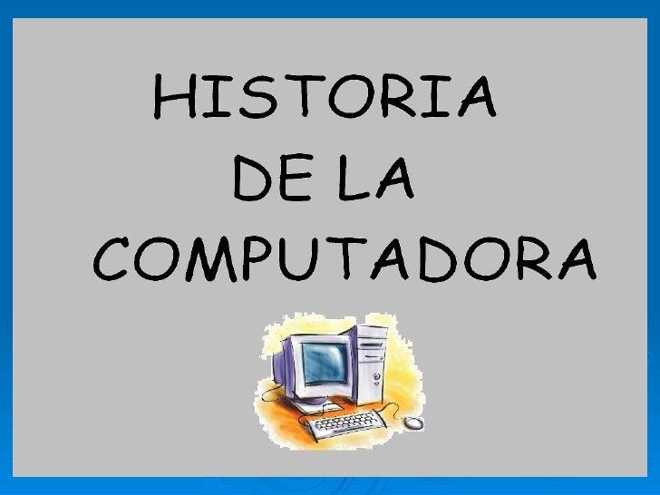 Primera generación (1951-1958)    Eckert y Mauchly contribuyeron al     desarrollo de computadoras de la Primera     Gene...