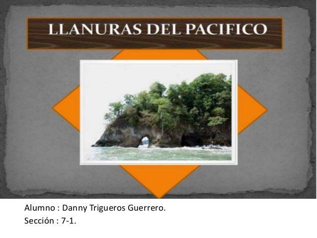 Estudiante : Danny Trigueros Guerrero.Alumno : Danny Trigueros Guerrero.Sección : 7-1.