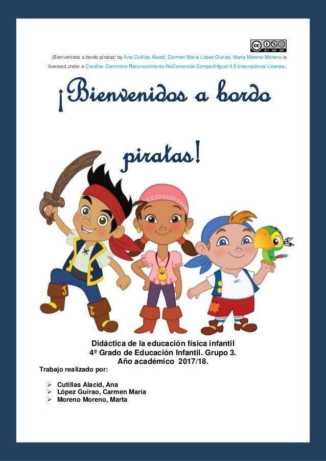 f8ff6b5dc ¡Bienvenidos a bordo piratas! by Ana Cutillas Alacid