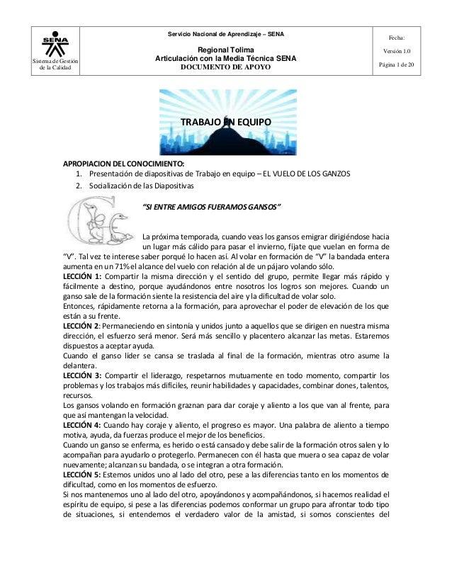 Servicio Nacional de Aprendizaje – SENA                                                                                   ...