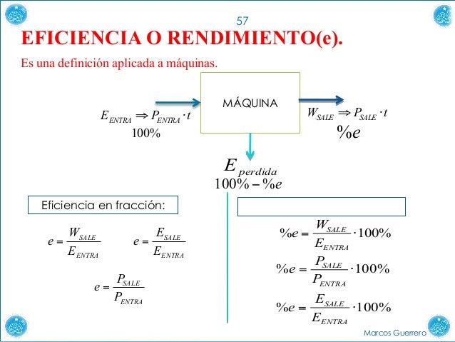 trabajo energía potencia y rendimiento fÍsica a