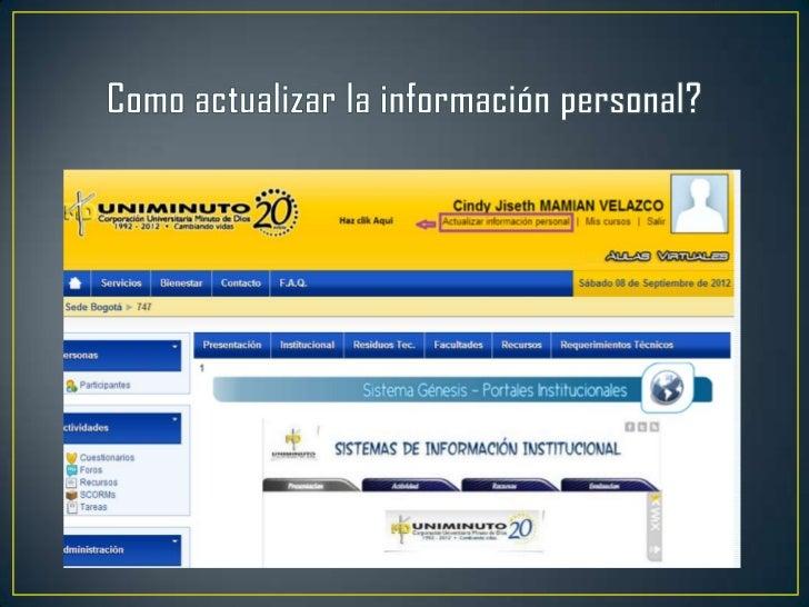Presentación aulas virtuales y correo institucional