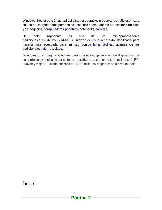 Windows 8 - Jose Carlos Jimenez Rueda Slide 2