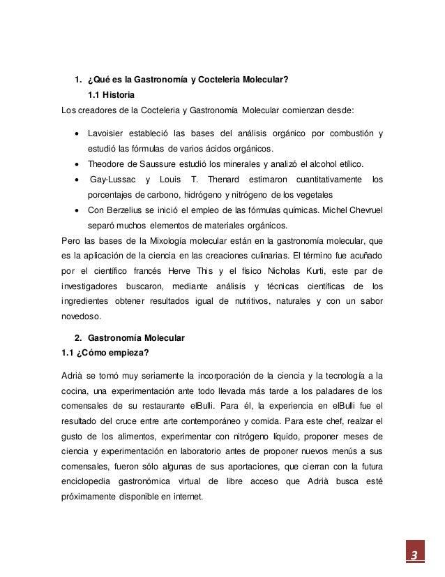 Gastronom a y cocteleria molecular for Introduccion a la gastronomia pdf