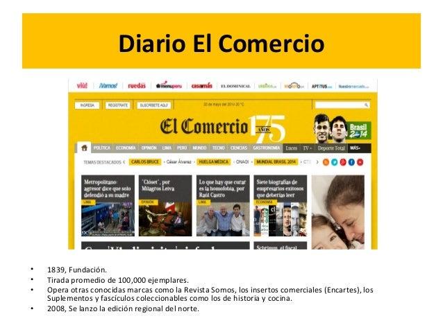 Trabajo Final Diario El Comercio