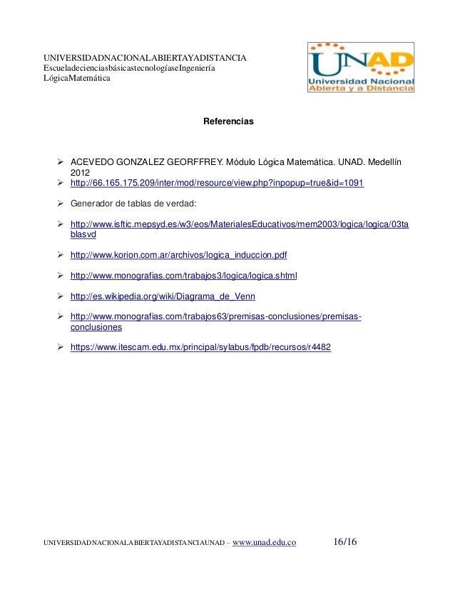 Trabajo final colaborativo 1 16 universidadnacionalabiertayadistanciaescueladecienciasbsicastecnologaseingenieralgicamatemtica referencias ccuart Gallery
