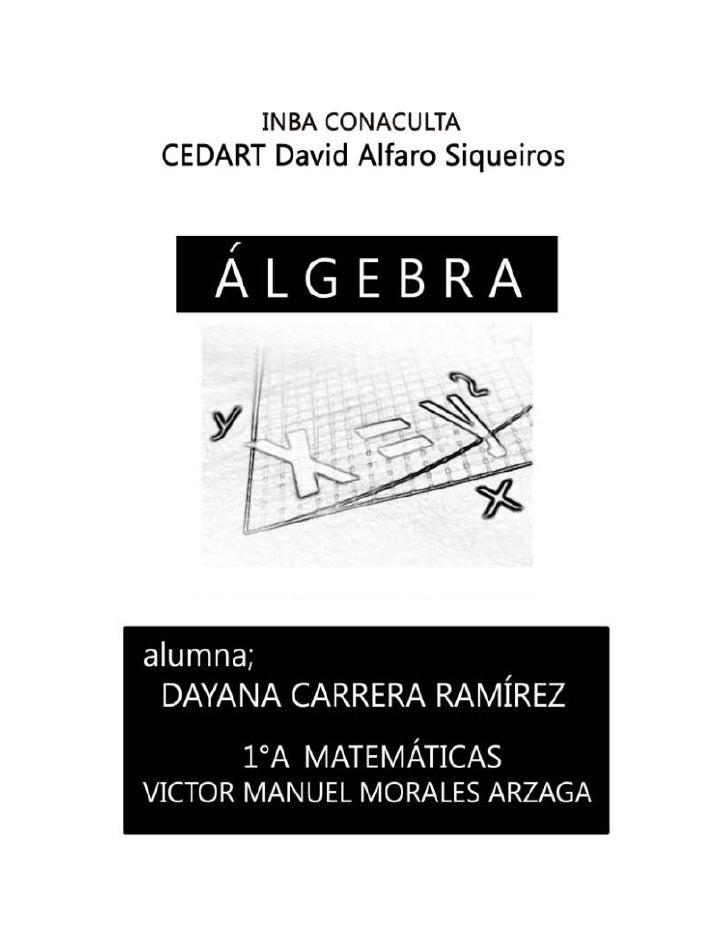Trabajo final de algebra