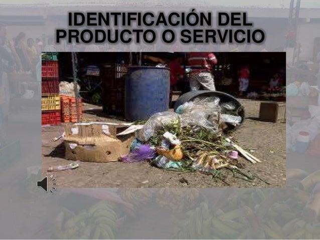 IDENTIFICACIÓN DELPRODUCTO O SERVICIO
