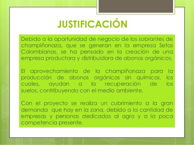 PRODUCCIÓN Y COMERCIALIZACIÓN DE ABONOS ORGÁNICOS Slide 3