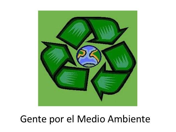 Gente por el Medio Ambiente