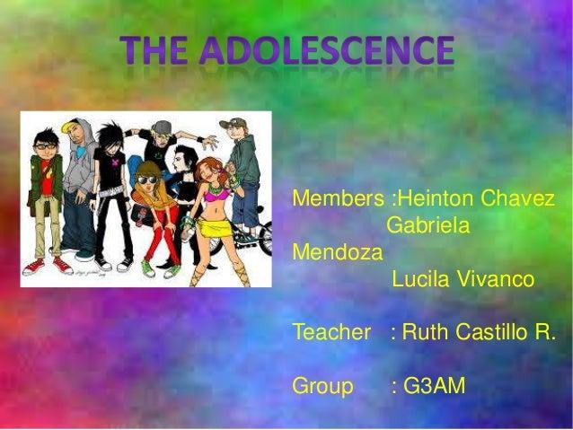 Members :Heinton Chavez Gabriela Mendoza Lucila Vivanco Teacher : Ruth Castillo R. Group : G3AM