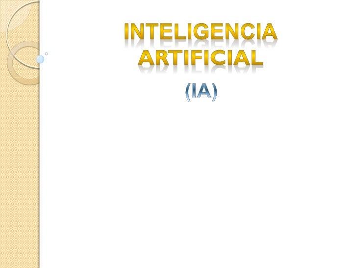 OPCIONES   Introducción.   Desarrollo.   Categorías de inteligencia artificial.   Escuelas de pensamiento.   Intelige...