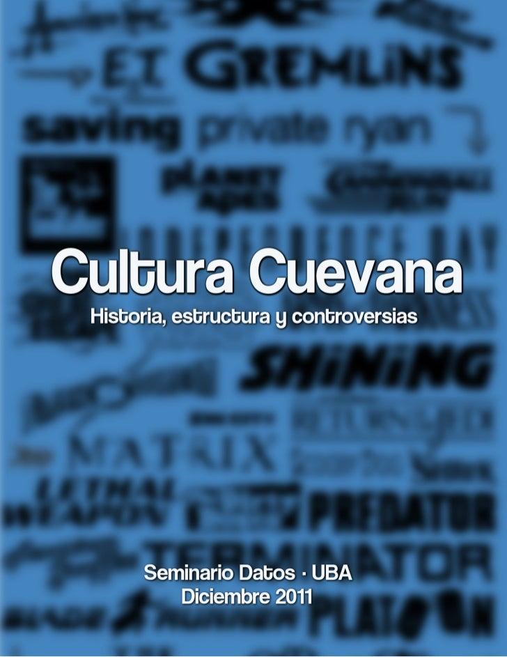 Cultura CuevanaadxhmvvfIntroducción                    5¿Qué pasó ayer?                 6Anatomía de Cuevana             9...