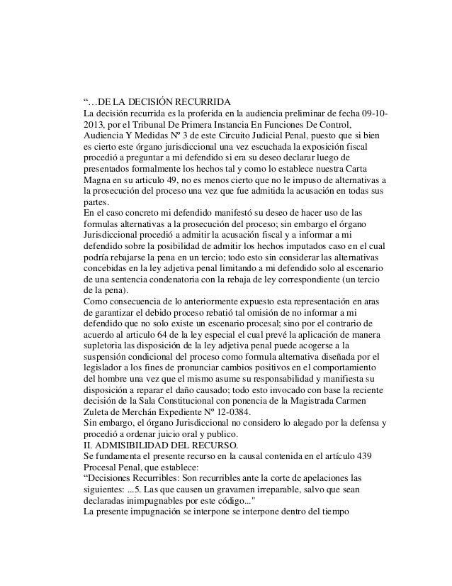 Circuito Judicial Penal : Trabajo suspension condicional del proceso
